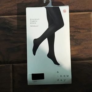 a new day blackout tights!